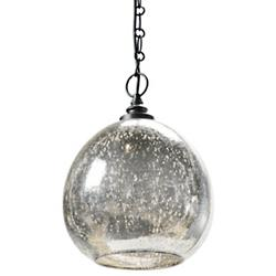 Mercury Glass Float Pendant (Black) - OPEN BOX RETURN