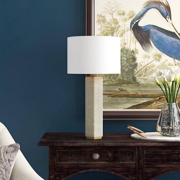 Gear Concrete Table Lamp