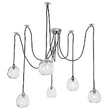 Molten Multi-Light Pendant Light