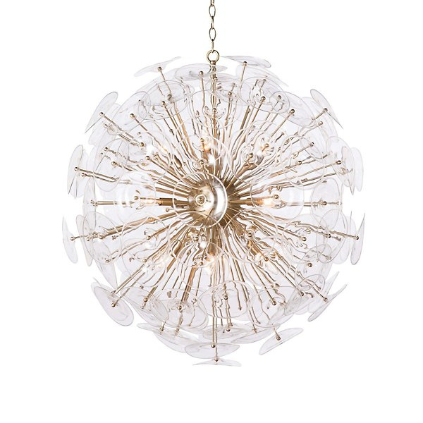 Poppy Glass Chandelier