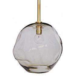 Molten Pendant (Natural Brass/Large) - OPEN BOX RETURN