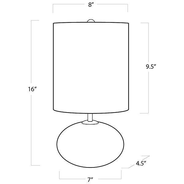 Concrete Mini Orb Table Lamp