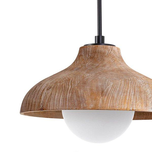 Coastal Living Surfside Wood Pendant