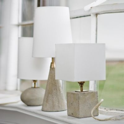 Table Lamps Concrete