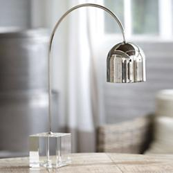 Crystal Base Dome Task Lamp