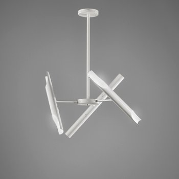 Shown in Liberty 3 LED Chandelier