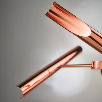 Polished Copper detail