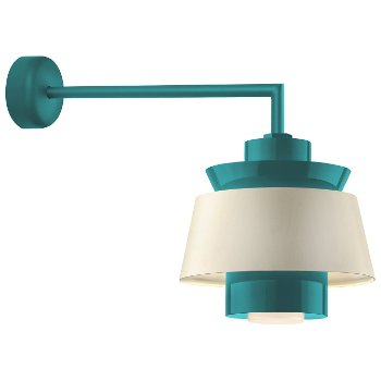 Shown in Tahitian Teal finish, 18 Inch arm length