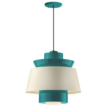 Shown in Tahitian Teal shade, 14 inch