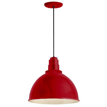 Shown in Red finish, 12 inch