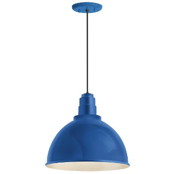 Shown in Blue finish, 12 inch