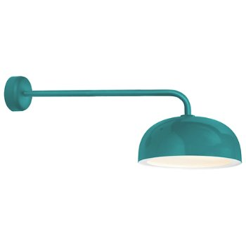 Shown in Tahitian Teal finish, 30 inch arm length