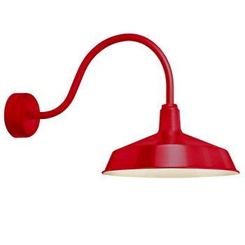 Shown in Red finish, 23 inch