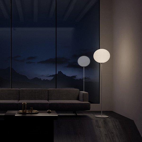 Flow Glass LED Floor Lamp