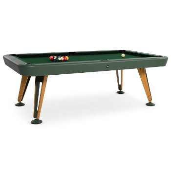 Shown in Green finish, 7 ft