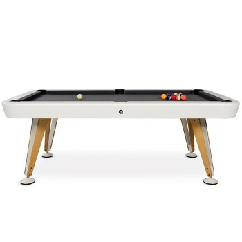 Shown in White finish, 8 ft