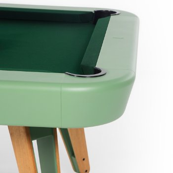 Shown in Green finish, Detail view