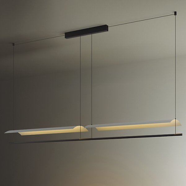 Lamina Led Systems Linear Suspension By Santa And Cole At Lumens Com
