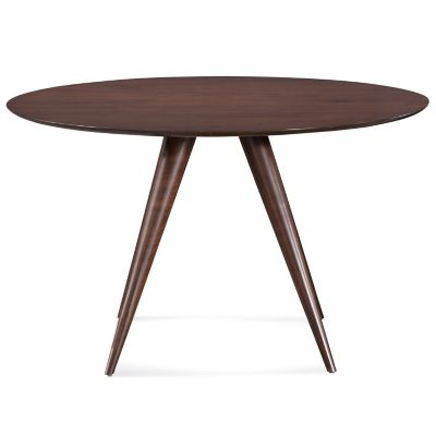 Iris Round Dining Table   Strata Top By Saloom Furniture At Lumens.com