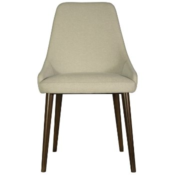 Shown in Oatmeal Fabric with Java finish