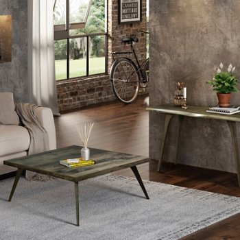 Martin Cocktail Table with Martin Console Table