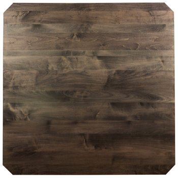 Shown in Nantucket finish, Square size