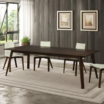 Alton Dining Table with Stretch U Dining Chair