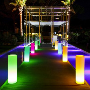 Tower Bluetooth LED Indoor/Outdoor Lamp