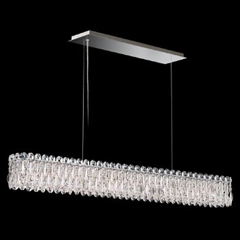 Shown in Stainless Steel finish, Heritage Crystal Type, Large size