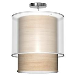 Lumiere Pendant (Natural Veneer/16 inch) - OPEN BOX RETURN