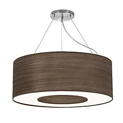 Aperture Suspension (Photo Walnut Stained Veneer/30 Inch) - OPEN BOX RETURN
