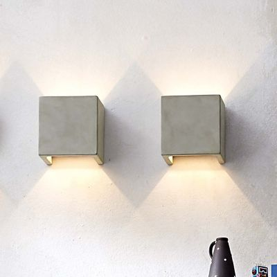 Castle led square wall sconce by seed design at lumens aloadofball Gallery