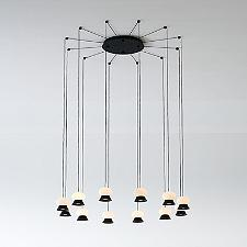 Fuji LED Multi Light Pendant