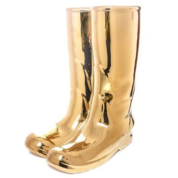 Rainboots Umbrella Stand - Gold Limited Edition