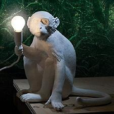 Monkey LED Sitting Lamp