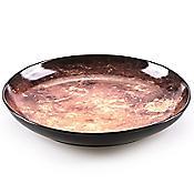 Cosmic Diner Soup Plate - Mars