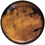 Cosmic Diner Dinner Plate - Venus