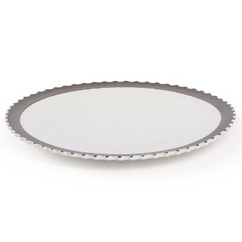 Diesel Machine Dinner Plate - Silver Edge