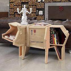Pig Sending Animals Wooden Furniture