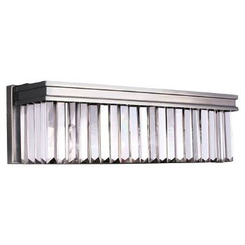 Shown in Antique Brushed Nickel finish, 2 Light