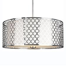 Jourdanton Drum Pendant Light