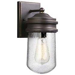 Mount Greenwood Clear Outdoor Wall Sconce