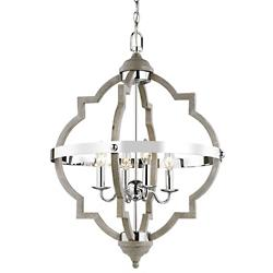 Socorro 4-Light Foyer Chandelier