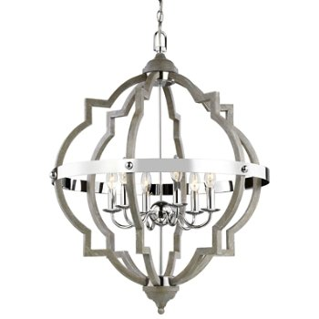 Socorro 6-Light Foyer Chandelier