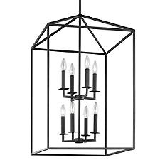 Perryton Two-Tier Foyer Pendant Light