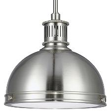 Pratt Street Metal Pendant Light
