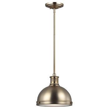 Shown in Satin Bronze finish, Small size
