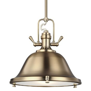 Shown in Satin Bronze finish, Large size