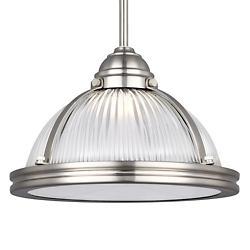 Pratt Street Prismatic LED Pendant