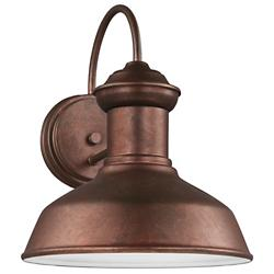 Fredricksburg Outdoor Wall Sconce (Copper/Small) - OPEN BOX